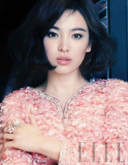 Song Hye Gyo - Elle