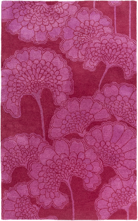FLORENCE BROADHURST PHOTOS: Mount Perry Cherry and Magenta Rug design by Florence Broadhurst