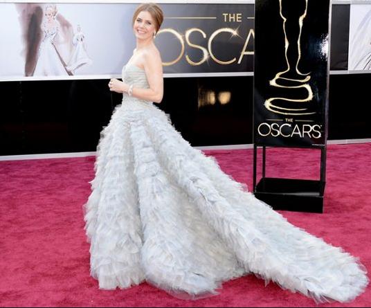 Oscars 2013 - Amy Adams in Oscar de la Renta