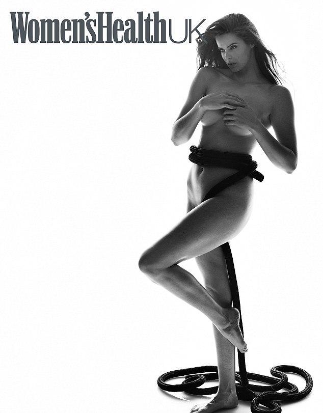 Robyn Lawley poses nude for Womens Health UK magazine via mylusciouslife