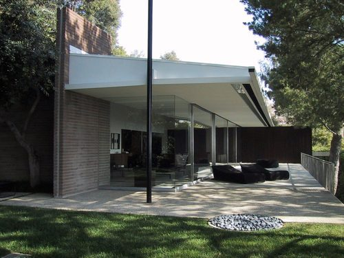 Tom Ford home - Richard Neutra-designed Brown-Sidney House in Los Angeles