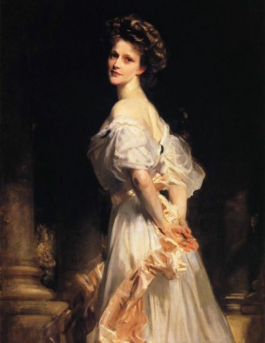 Painting of Nancy Astor