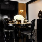 ralph lauren home one fifth collection - gold black decorating ideas