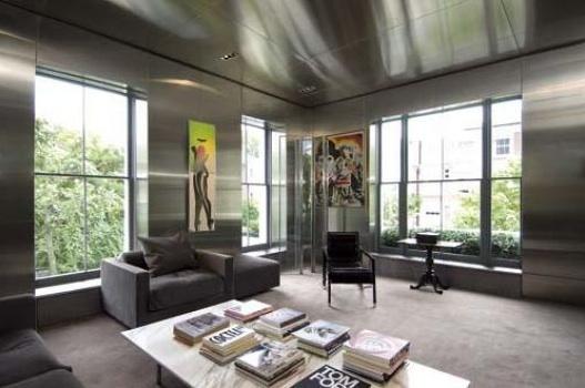 living room - tom ford - house - 26 gilston road chelsea london