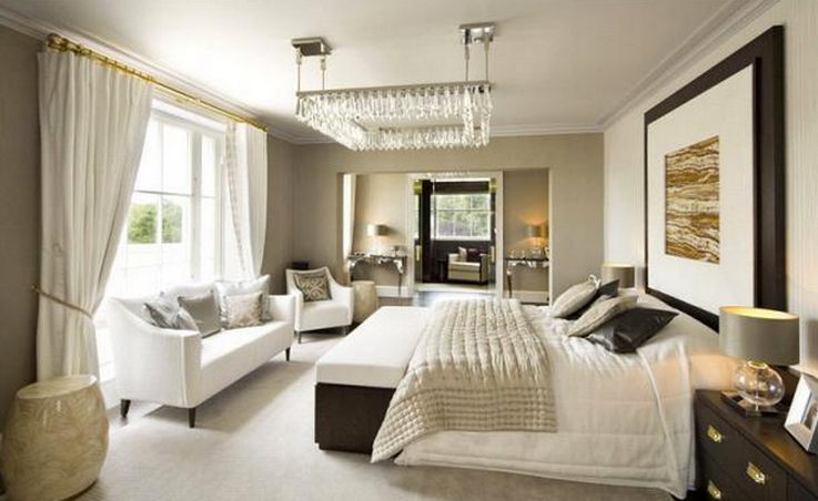1 Cornwall Terrace Mews in London - Bedroom