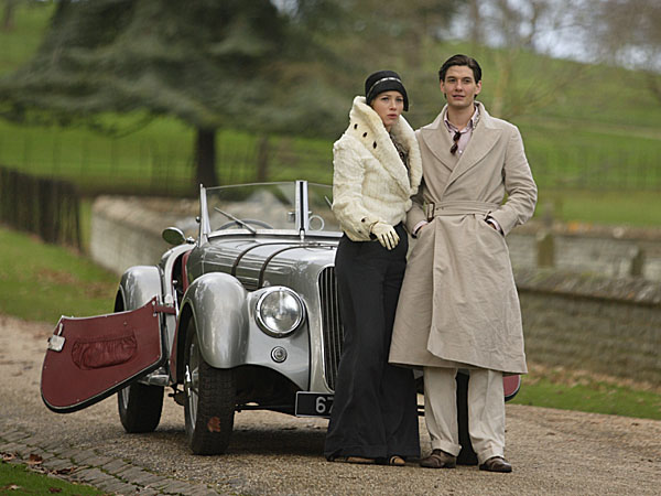 Easy Virtue film - vintage car