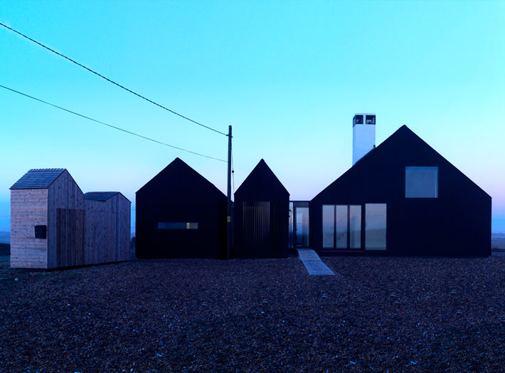 Shingle House in Dungeness by NORD Architecture