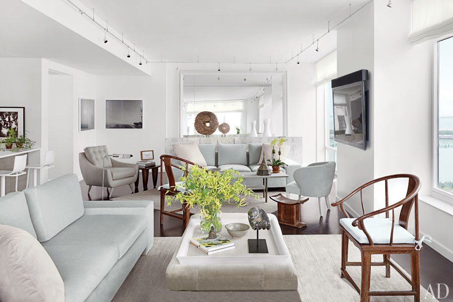 STYLISH HOME: A Manhattan apartment decorated by Vicente Wolf