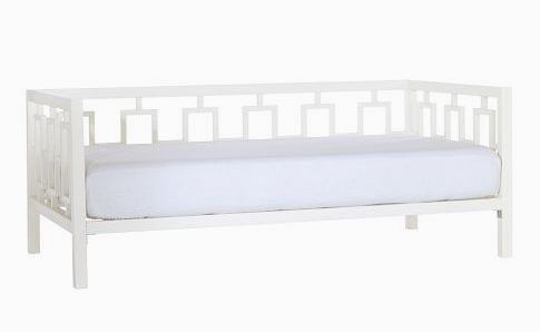 West Elm Window Daybed - White Lacquer