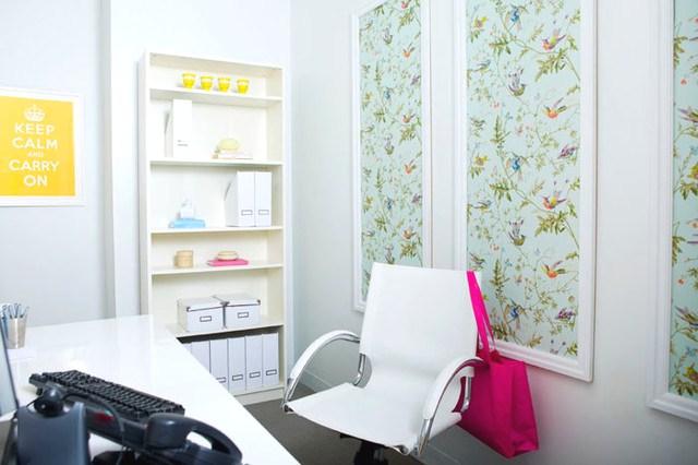 Framed wallpaper prints wall hangings