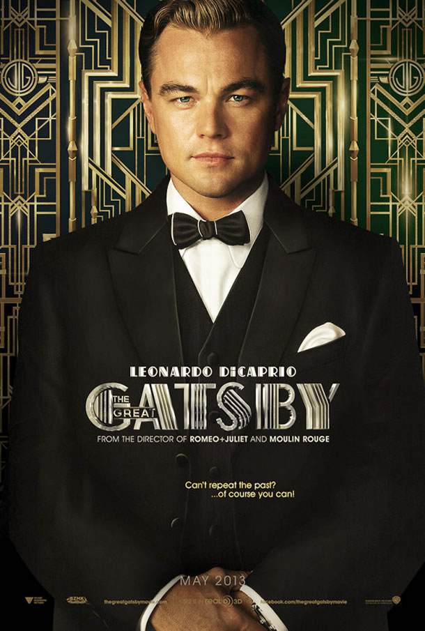 Leonardo DiCaprio as Jay Gatsby in the 2013 production of The Great Gatsby