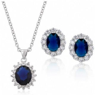 kate-middletons-oval-sapphire-blue-necklace-and-earrings-set