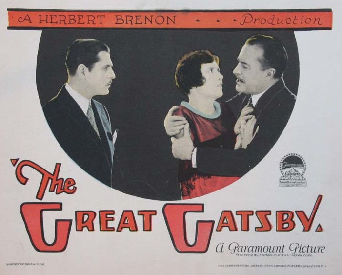 the-great-gatsby-1926 film poster