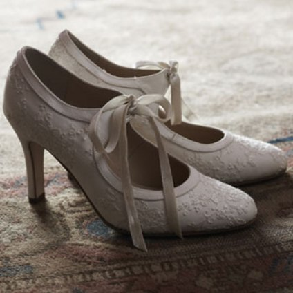 1920s vintage wedding - Wedding Booties 1920s 1930s style