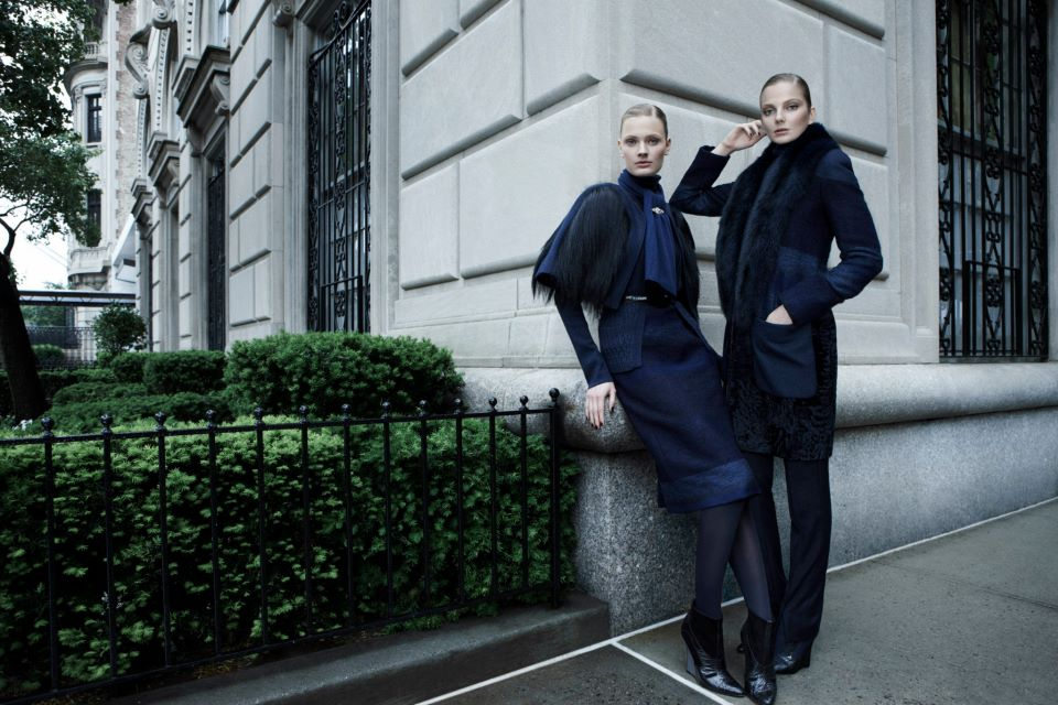 Carolina Herrera Fall 2012 Campaign