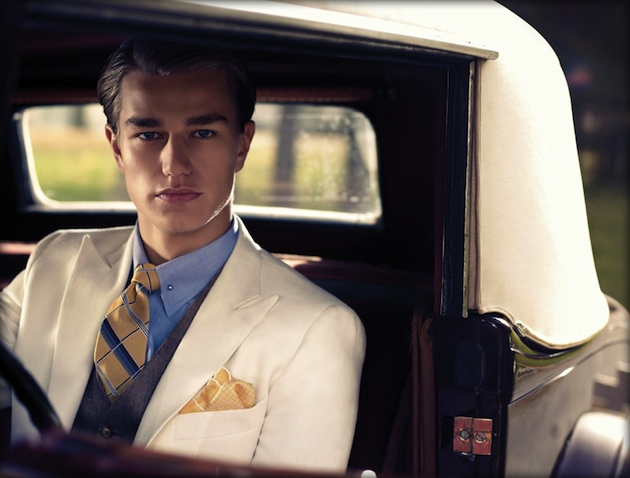Gatsby-brooks brothers-ad campaign - modern 1920s inspired menswear