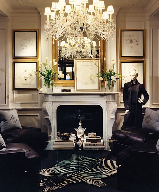 Glamorous home - ralph lauren home one fifth collection