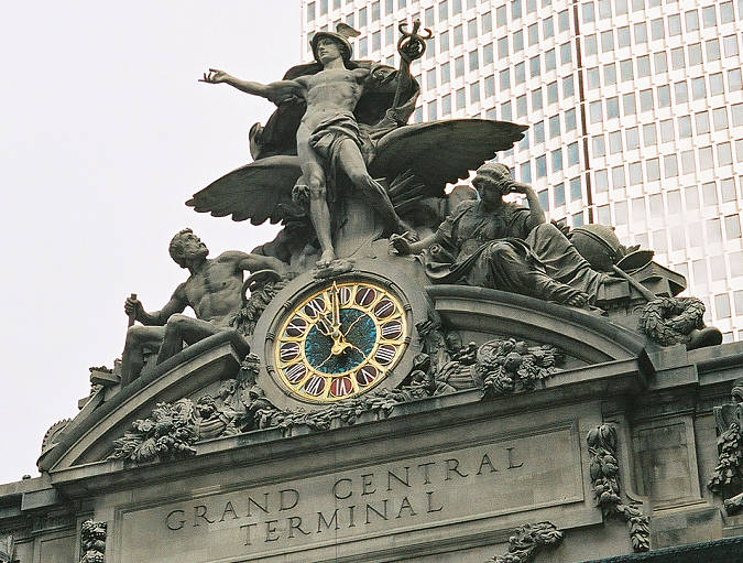 Grand Central Terminal new york via mylusciouslife