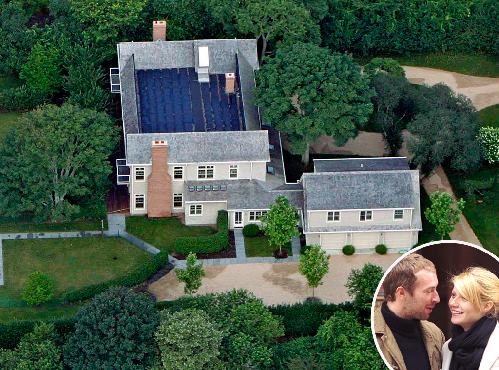 Gwyneth Paltrow home in the Hamptons