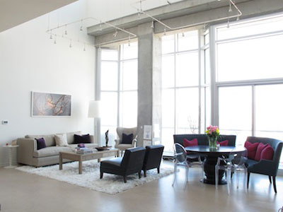Gwyneth Paltrow Nashville Tennessee Loft Living And Dining Room