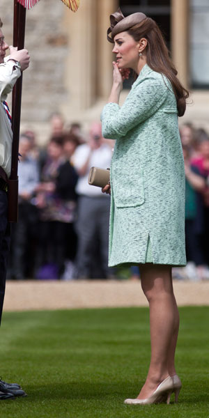 Kate Middleton maternity clothes