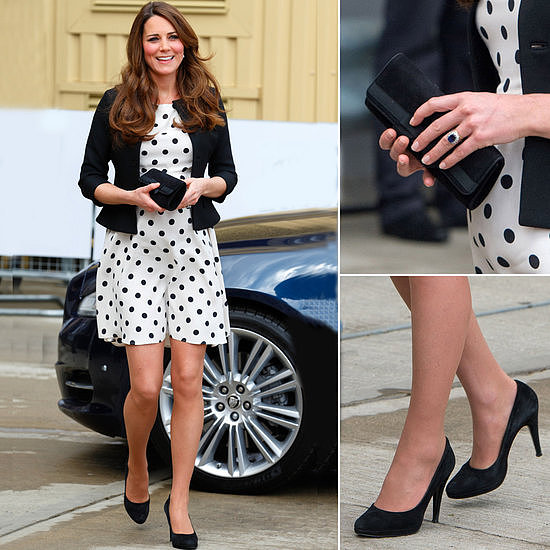 Buy the Kate Middleton polka dot dress from Topshop