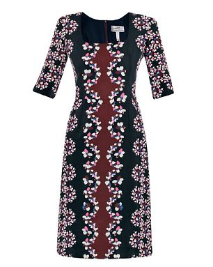 Kate Middleton printed Sophia dress by Erdem