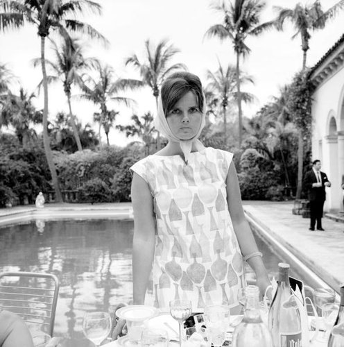 Lilly Pulitzer in Palm Beach circa 1955