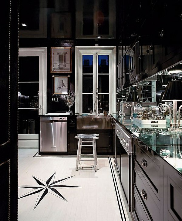 Stylish Home: Black And White Interiors   Luscious: MyLusciousLife.
