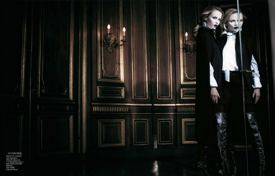 Natasha Poly by Willy Vanderperre for Vogue China November 2012