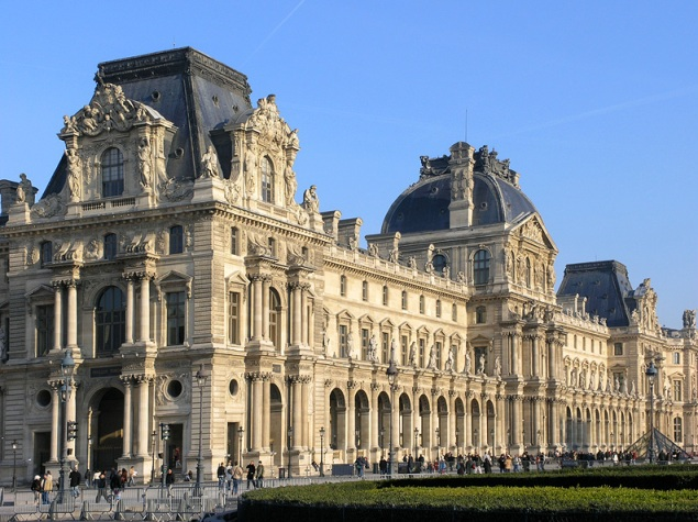 Photos of Beaux Arts style - Louvre_Aile_Richelieu via myLusciousLife.com