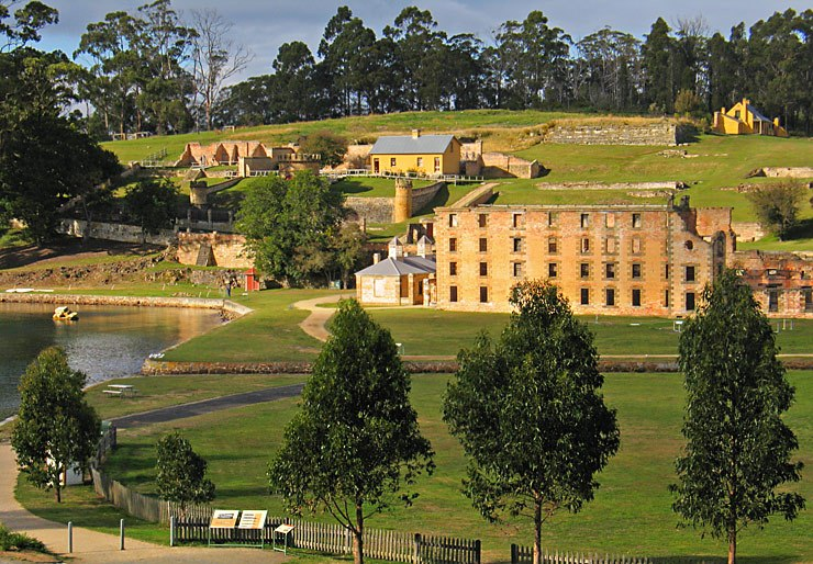 Historic Port Arthur in Tasmania