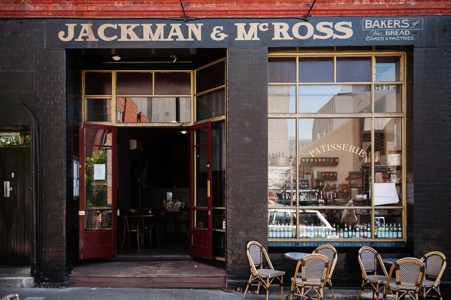 Hobart Gourmania Food Tours Jackman & McRoss exterior by photographer Jonathan Wherrett via mylusciouslife