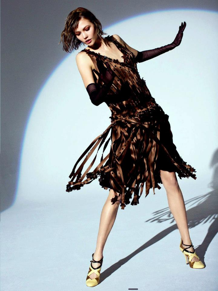 Karlie Kloss by Arthur Elgort for Vogue Australia May 2012