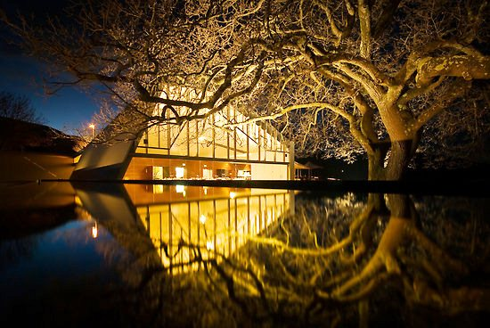 peppermint bay at night - elegant dining in hobart