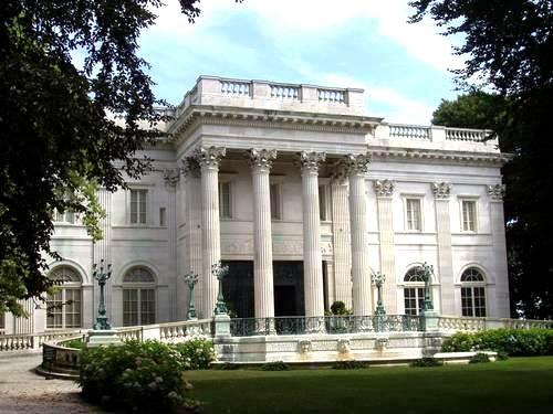 Marble House in Newport, the Vanderbilt houe