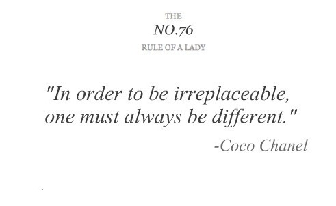 Quote by Coco Chanel