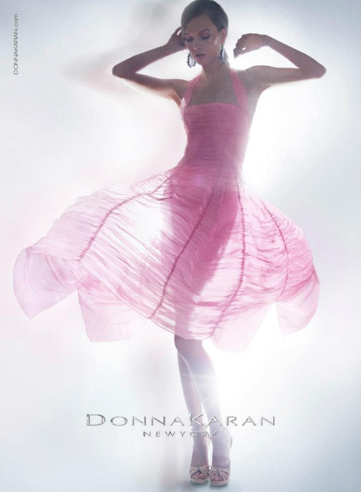 Karlie Kloss for Donna Karan Resort 2012 Campaign