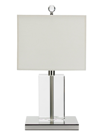Glass and lucite style - Ralph Lauren Lucite Series Low Table Lamp