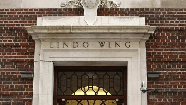 The Lindo Wing of St Mary's Hospital in London