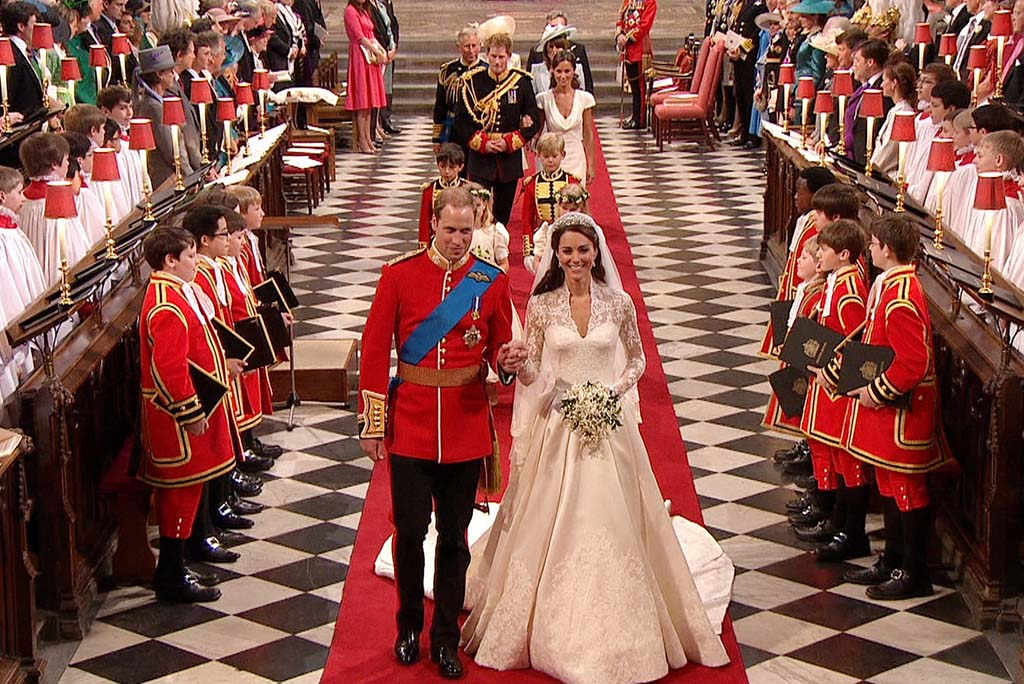 Royalty Pictures From The Royal Wedding Of Kate Middleton And