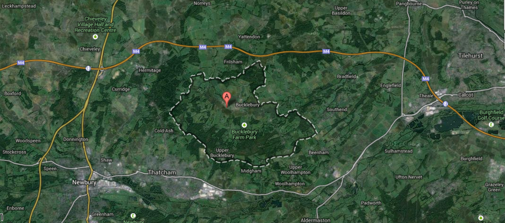 Bucklebury Berkshire England