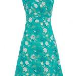 Emerald flower wrap dress - Dorothy Perkins