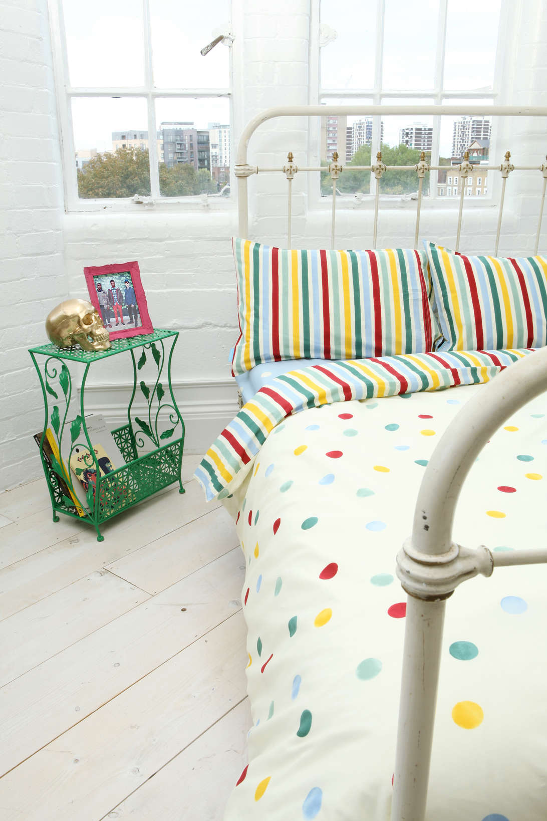 Stripes And Polka Dots Emma Bridgewater Dot Double Duvet Cover Set