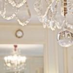 Stunning crystal chandelier