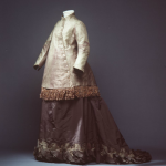 Maternity visiting ensemble 1870s England