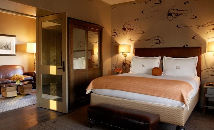 Luscious travel - Soho Grand hotel bedroom