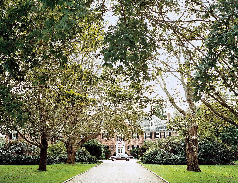 Tory Burch's Southampton home