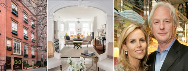 The former home of Chris and Tory burch in the West village, Manhattan