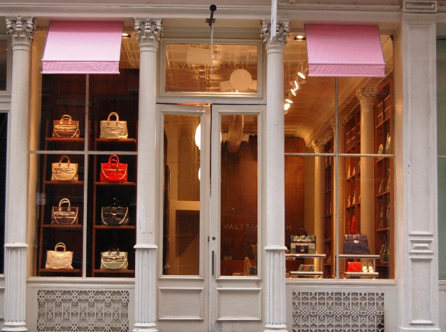 Shopping in SoHo - valeria smith store in soho new york